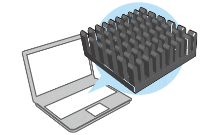 image: PC's heat sink